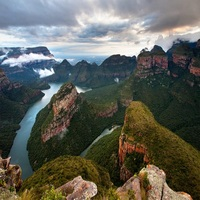 The Blyde River Canyon